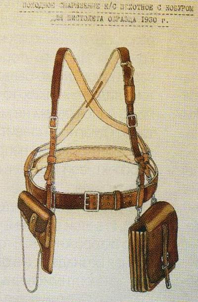 1.у старших командиров полевая сумка крепилась за муфты, слева, а через...